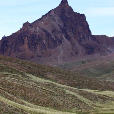 Monte Zeballos (Mt. Zeballos) - Lake Buenos Aires's Plateau, Patagonia National Park Argentina.