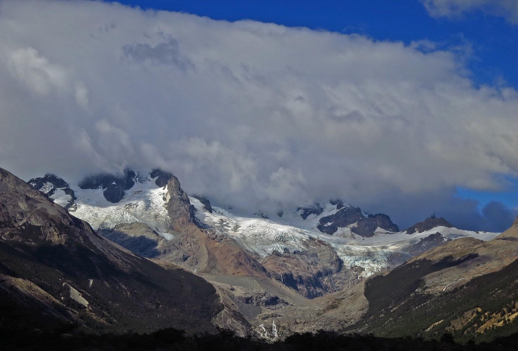 Clouds in Mt. San Lorenzo.