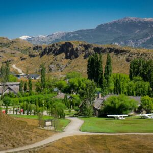 Patagonia National Park's Chile Headquarters, Interpretation Centre and Main Services Area - Valle Chacabuco Section